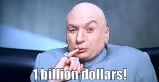 1 billion dollars