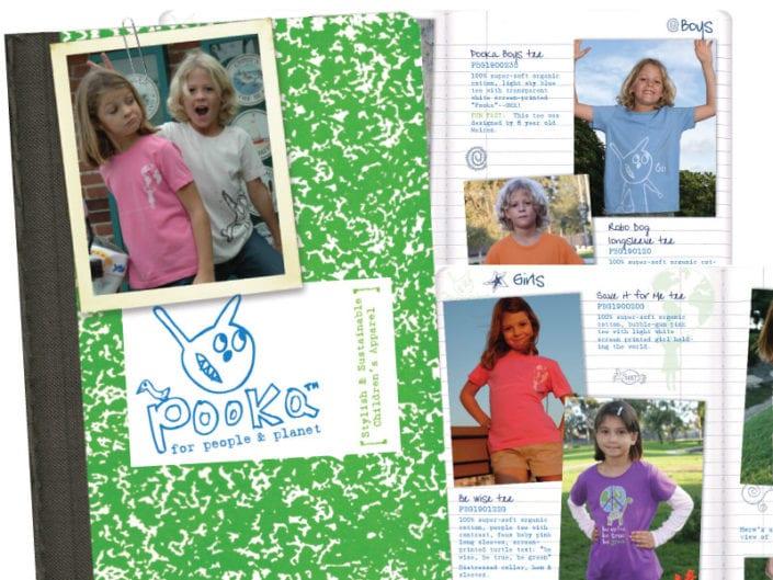 Sales catalog brand design