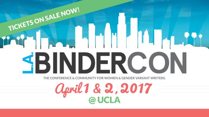 BinderCon LA 2017 tickets graphic