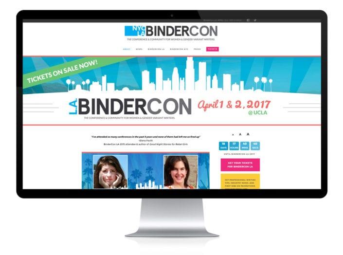 bindercon-writer-website-design
