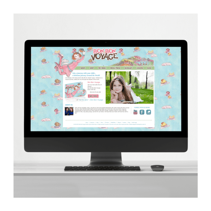 author-childrens-book-website-design BonBon