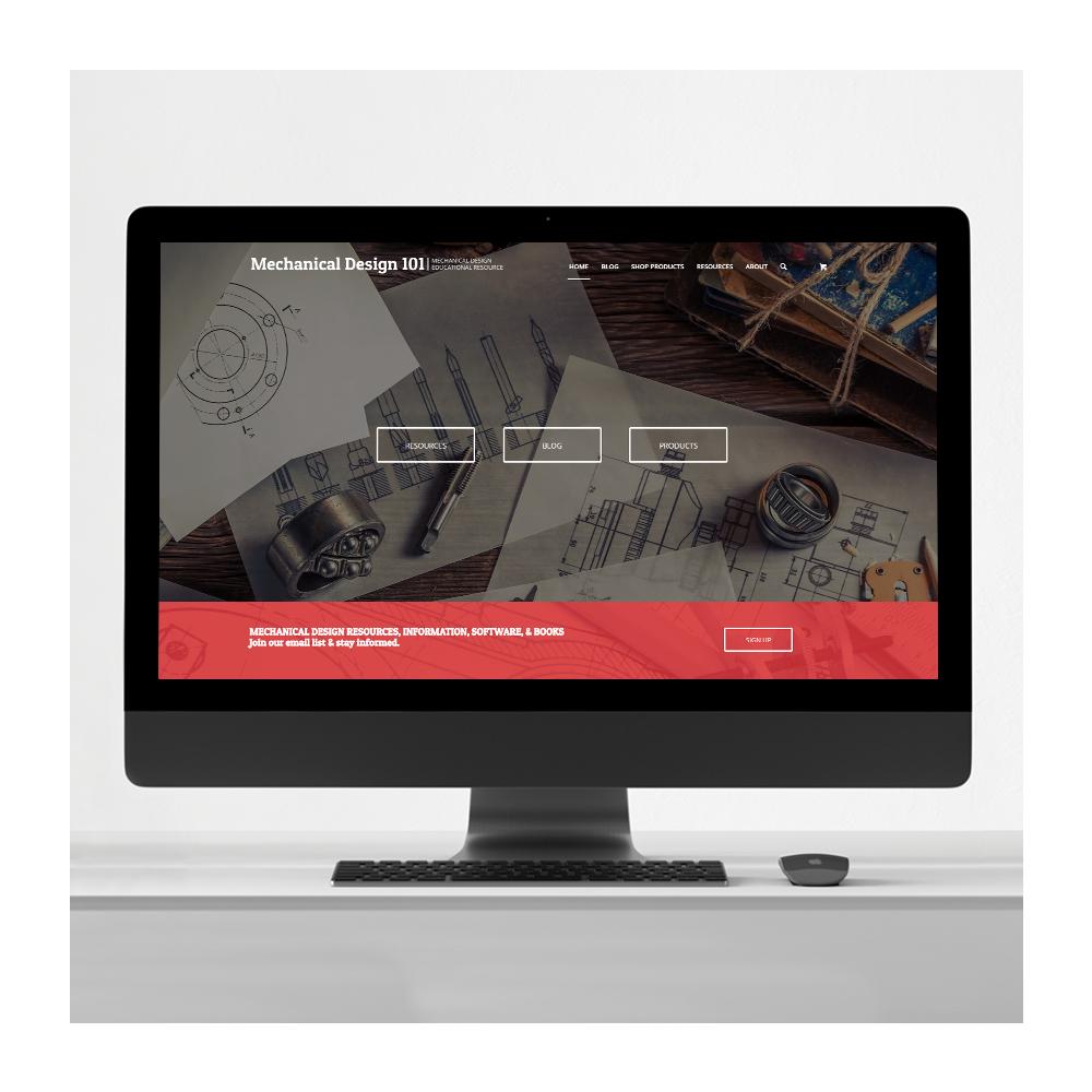 Educational Brand Website Design