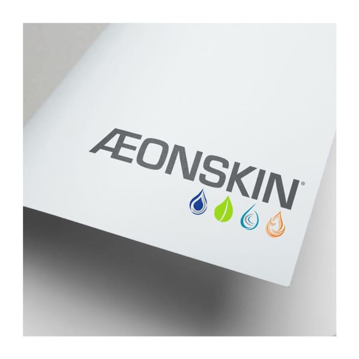 Skincare product brand identity design