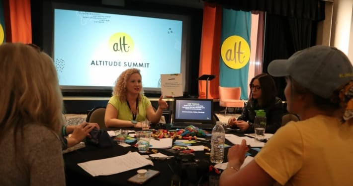 Me, teaching at Alt Summit.
