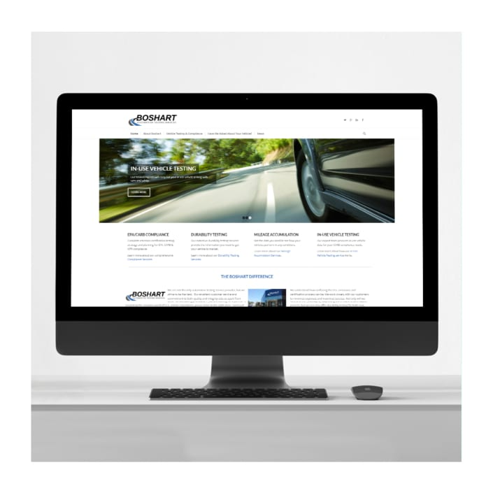 Automotive business website design