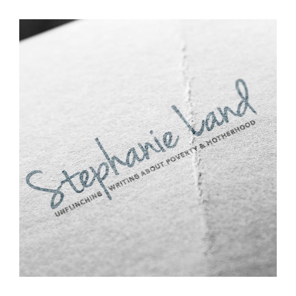 Stephanie Land logo design
